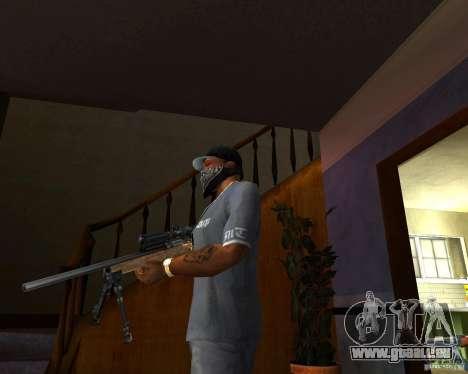 Le fusil M24 pour GTA San Andreas deuxième écran