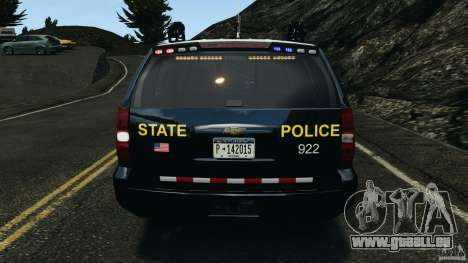 Chevrolet Tahoe Marked Unit [ELS] pour GTA 4 Salon