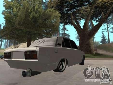VAZ 2105 léger Tuning pour GTA San Andreas laissé vue