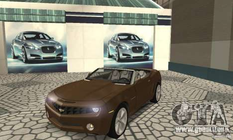 Chevrolet Camaro Concept 2007 pour GTA San Andreas laissé vue