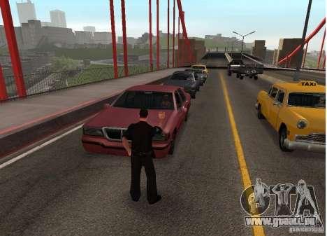 Ein Selbstmordattentäter auf der Brücke für GTA San Andreas zweiten Screenshot