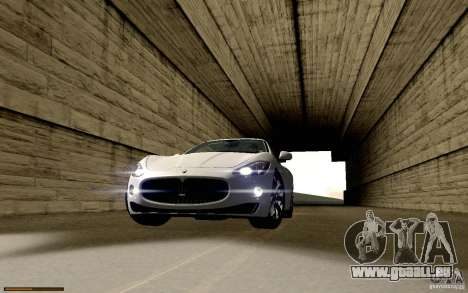 Maserati Gran Turismo 2008 pour GTA San Andreas vue de dessous