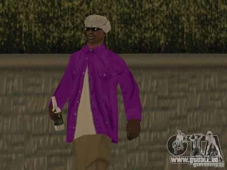 Neue Skins Ballas für GTA San Andreas her Screenshot