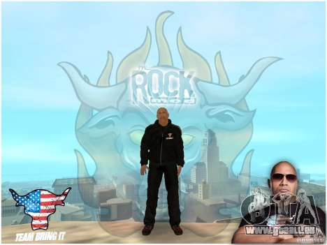 Dwayne The Rock Johnson für GTA San Andreas