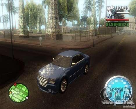 MadDriver s ENB v.3.1 pour GTA San Andreas quatrième écran