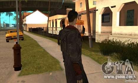 Dante de Devil May Cry pour GTA San Andreas cinquième écran
