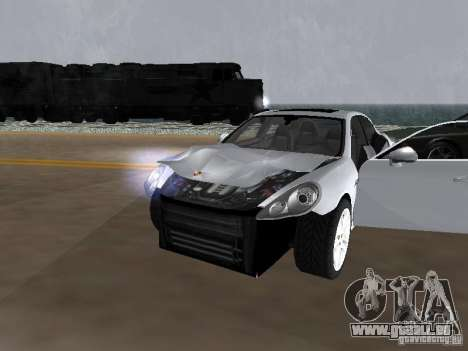 Porsche Panamera Turbo Tunable pour GTA San Andreas vue intérieure