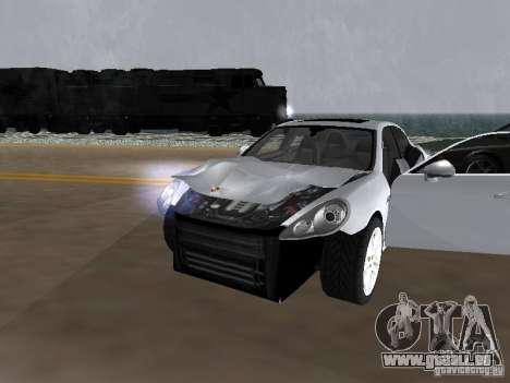 Porsche Panamera Turbo Tunable für GTA San Andreas Innenansicht