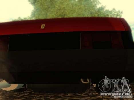 VAZ 21099 Ferrari pour GTA San Andreas vue intérieure