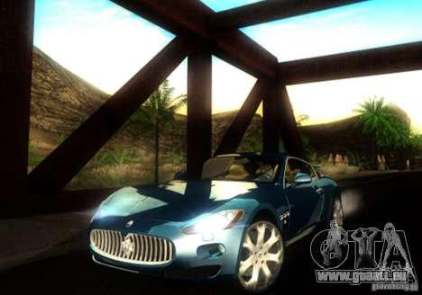 Maserati Gran Turismo für GTA San Andreas linke Ansicht