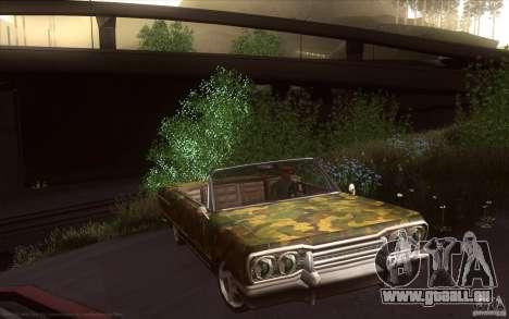 Savanna HD pour GTA San Andreas vue de droite