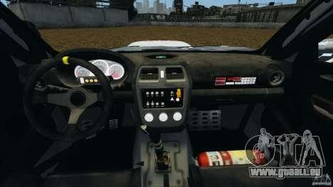Subaru Impreza WRX STI N12 für GTA 4 Rückansicht