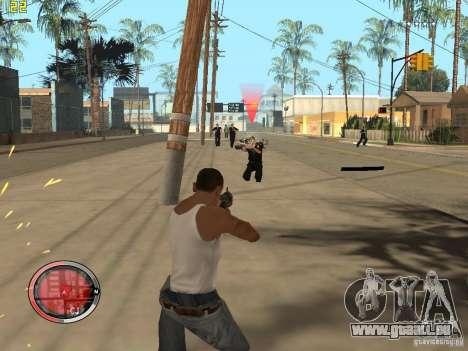 Ergänzung zu den GTA IV HUD für GTA San Andreas achten Screenshot