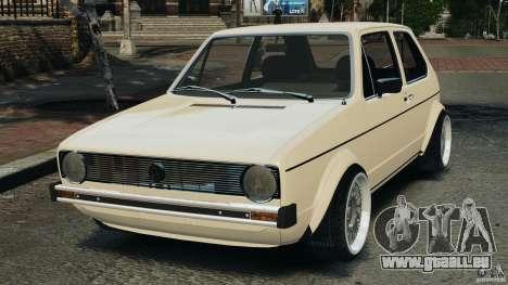 Volkswagen Golf Mk1 Stance für GTA 4