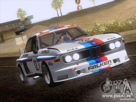 BMW CSL GR4 pour GTA San Andreas vue intérieure