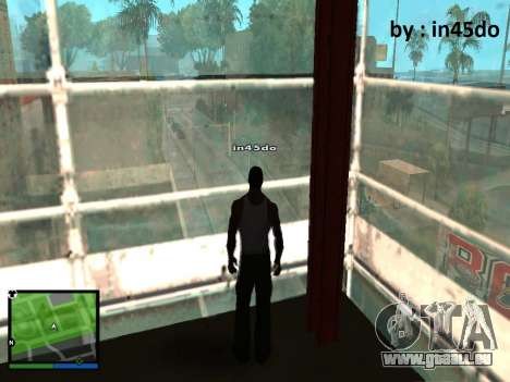 GTA V Interface for Samp für GTA San Andreas zweiten Screenshot