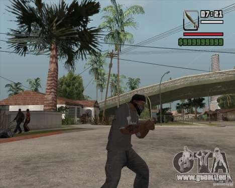 Steep Knife pour GTA San Andreas deuxième écran