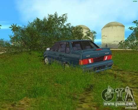 Lada 2115 pour une vue GTA Vice City de la gauche