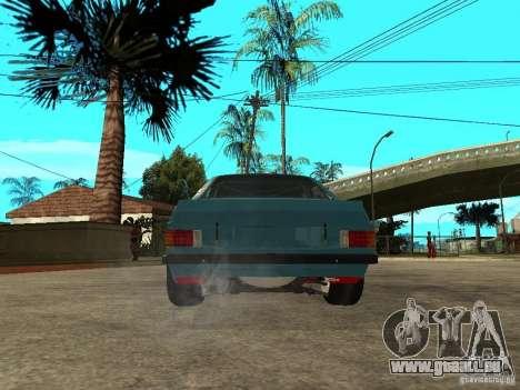 Ford Escort Mk2 pour GTA San Andreas sur la vue arrière gauche