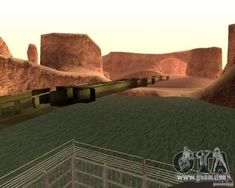 Base du DRAGON pour GTA San Andreas troisième écran