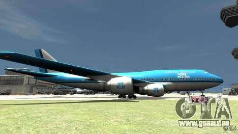 Real KLM Airplane Skin für GTA 4 linke Ansicht