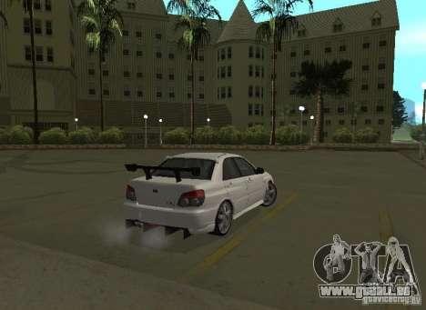 Subaru Impreza WRX STI-Street Racing pour GTA San Andreas roue