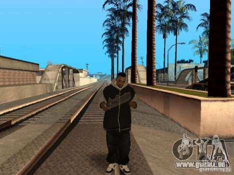Pack Ballas Soldiaz Families V.2 für GTA San Andreas sechsten Screenshot