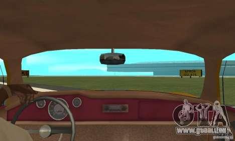 Volkswagen Karmann Ghia pour GTA San Andreas vue arrière