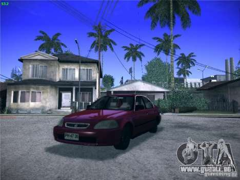 Honda Civic Sedan 1997 für GTA San Andreas
