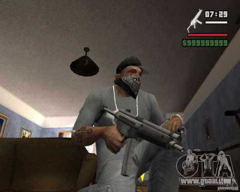 Mp5HD pour GTA San Andreas