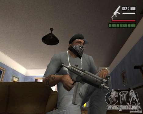 Mp5HD pour GTA San Andreas