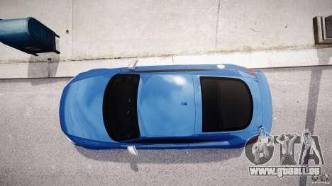 Audi TT RS Coupe v1 pour GTA 4 vue de dessus