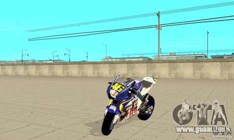 Honda Valentino Rossi Nrg500 pour GTA San Andreas