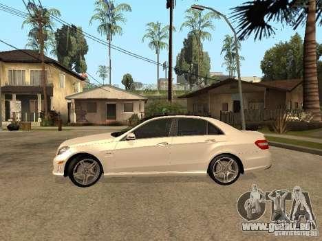 Mercedes-Bens e63 AMG für GTA San Andreas linke Ansicht