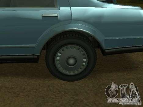 Das Römer-Taxi von GTA4 für GTA San Andreas Seitenansicht