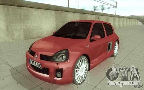 Renault Clio V6 pour GTA San Andreas