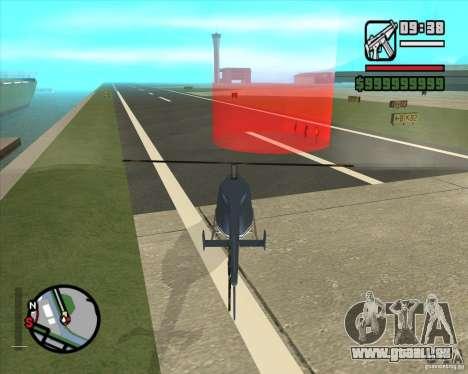 Pilote de l'emploi pour GTA San Andreas troisième écran