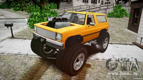 MonsterTruck pour GTA 4