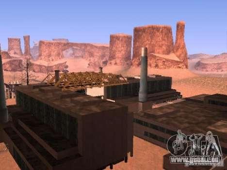 Tchernobyl MOD v1 pour GTA San Andreas troisième écran