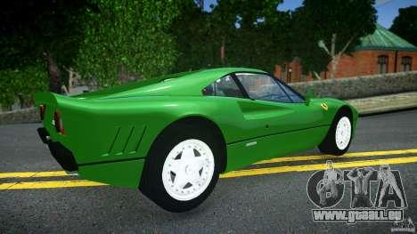 Ferrari 288 GTO EPM für GTA 4 hinten links Ansicht