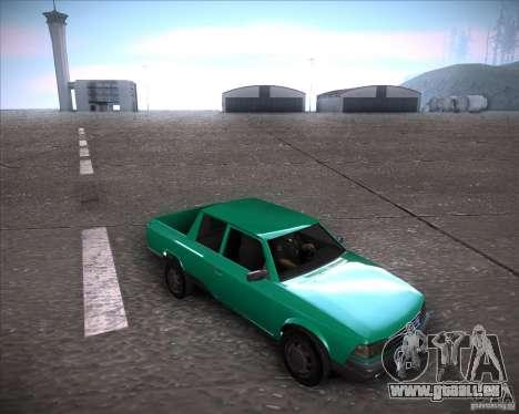 AZLK 2335-21 pour GTA San Andreas sur la vue arrière gauche