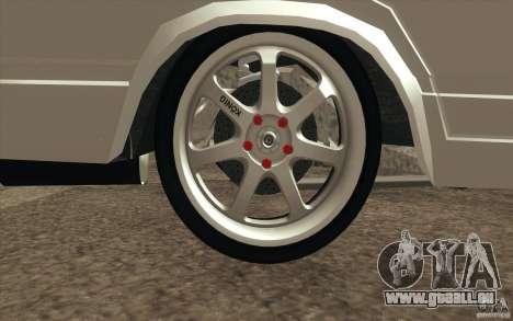 Dérive de Vaz Lada 2107 pour GTA San Andreas salon