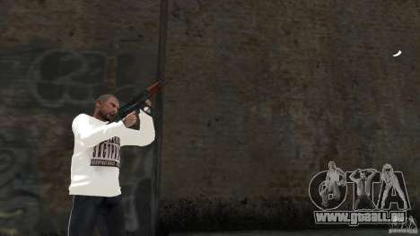 AKS-74U für GTA 4 fünften Screenshot