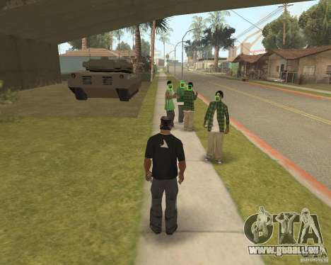 Mark and Execute pour GTA San Andreas