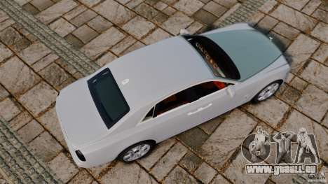 Rolls-Royce Ghost 2012 pour GTA 4 est un droit
