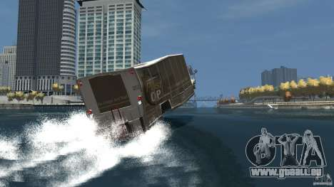Benson boat für GTA 4 Unteransicht
