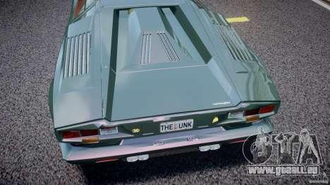 Lamborghini Countach v1.1 pour GTA 4 est une vue de l'intérieur