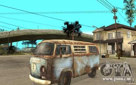 Dharma-Van (VW Typ 2 T2a) für GTA San Andreas