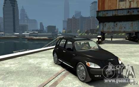 Chrysler PT Cruiser pour GTA 4 Vue arrière