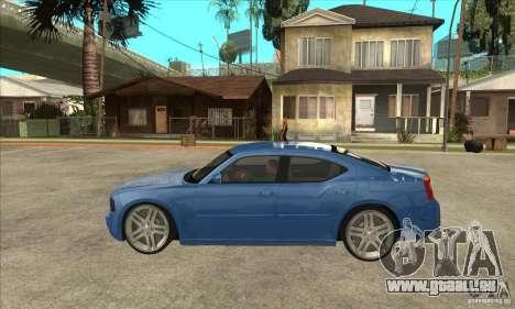 Dodge Charger R/T 2006 pour GTA San Andreas laissé vue